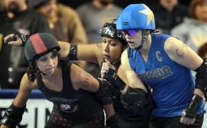 Fairbanks Rollergirls collide with Hawaiian team