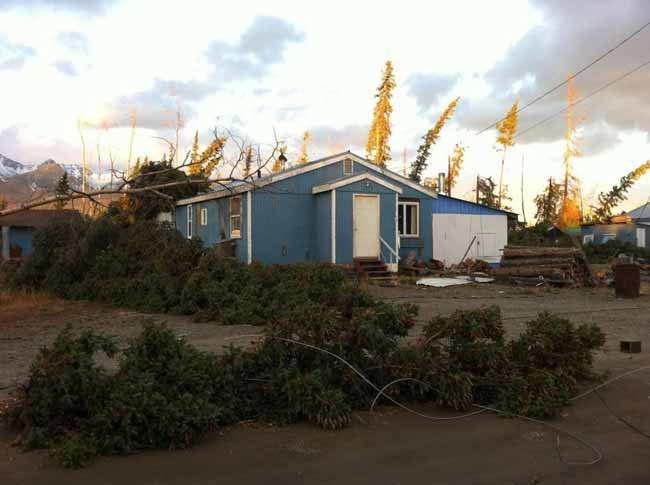 Winds clocked at 114 mph in interior alaska storm - Interior community health center fairbanks ...