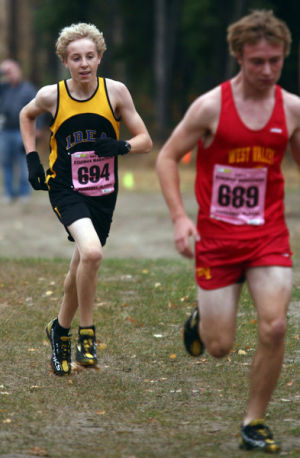 High Noon: Wolfpack boys dominate large schools at cross country championships