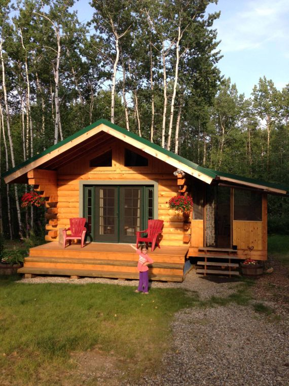 Alaska living great cabins in the last frontier stories for Alaska cottage