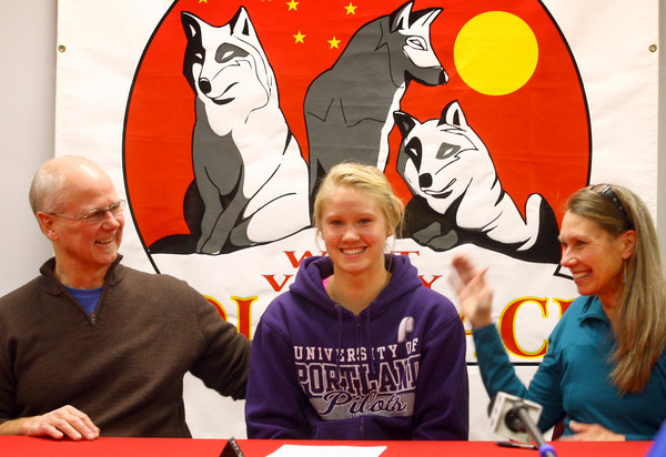 Wolfpack girls basketball standout Mattson signs with Division I Portland