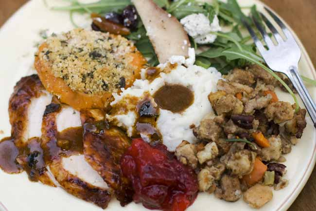 Thanksgiving is about tradition, so don't do fancy