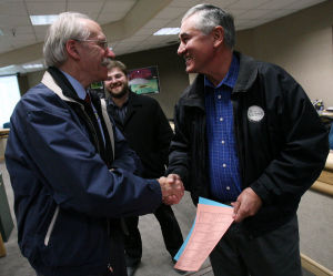Hopkins wins re-election as Fairbanks borough mayor