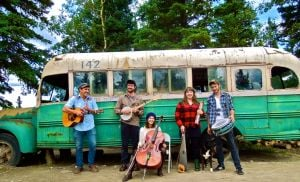 <p>Fairbanks-based bluegrass band Feeding Frenzy is releasing its second album tonight during a performance at The Marlin, 3412 College Road.</p>
