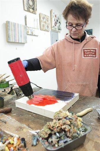 Kenai artist puts new spin on ancient art form