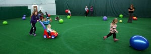 Alaska Club gym adds indoor turf field
