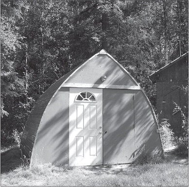 Bow roof sheds are free standing arched frames that are for Bow roof shed