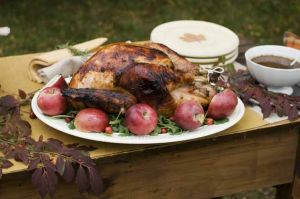 Cider-brined Turkey with Sage Gravy