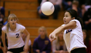 West Valley returns to state: Volleyball squad perseveres and beats Lathrop