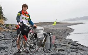 Kodiak biker wraps up cross-country ride in Key West