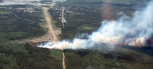 Boreal forest fires