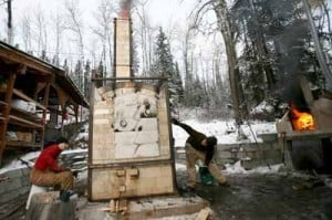 Experimental vegetable oil kiln helps UAF potters stay environmentally friendly
