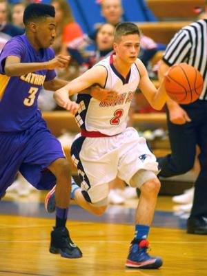 North Pole vs. Lathrop basketball