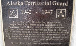 Group plans Alaska Territorial Guard memorial park