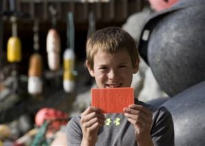 Alaska boy finds plastic card 33 years after it was set afloat