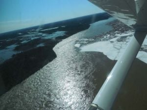 Yukon River ice jam breaks