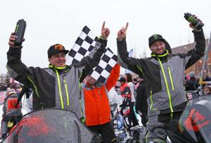 Davis, Simons win Iron Dog after previous front-runners disqualified