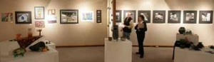 Fairbanks students get Up with Art with Bear Gallery exhibit