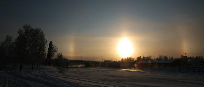 Even longtime Alaskans taken off guard by deep freeze