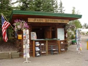 Poetry Corner: Pioneer Park Information Booth