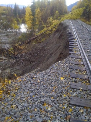 Railroad: damage, lost revenue, may exceed $1 million