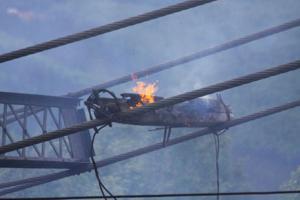 Chatanika Dredge fire
