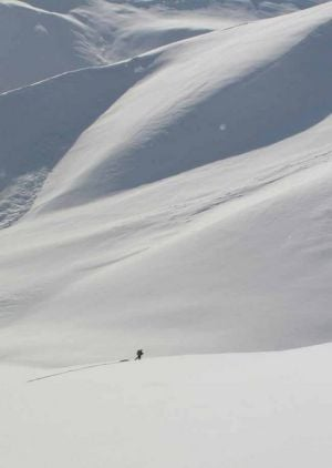 Competitors brave backcountry in Alaska Mountain Wilderness Ski Classic