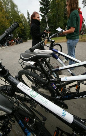 Green Bikes loaner program promotes sustainability at UAF