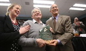 Longtime Fairbanksan, miner, dog trainer Roger Burggraf named Alaskan of the year