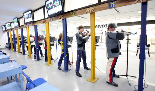 Lathrop's Barnes wins air rifle individual title for second year in row