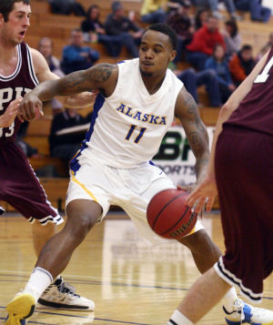 Nanooks fall to 13th-ranked Falcons in GNAC basketball opener
