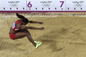 Eielson grad Janay DeLoach wins Olympic bronze in long jump