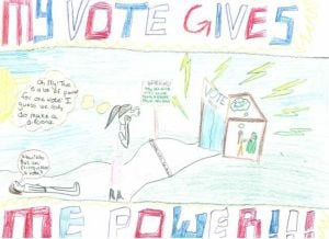 Fairbanks kids learn the power of voting