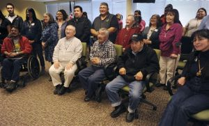 Alaska islanders held by Japanese during WWII reunite