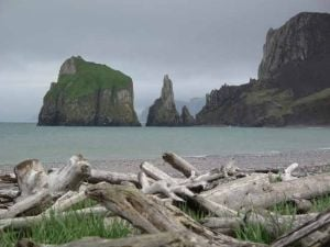 Even by Alaska standards, St. Matthew Island is a lonely place