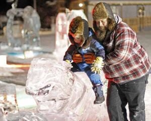 Cold weather means Ice Alaska Ice Park may stay open until April