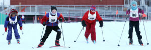 About 150 take part in Turkey Day Relays ski event