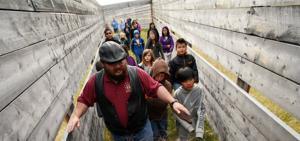 Alaska students learn life of the herd via the buffalo man