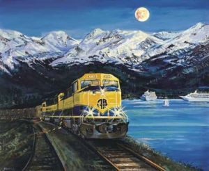 Alaska Railroad announces annual print sale, signing events
