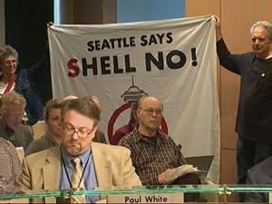 Oil Rig Docking Debate Heats Up in Seattle