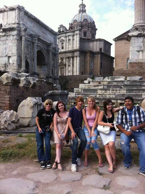 Tok students travel to Italy