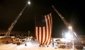 Flag honoring victims of 9/11 terror attacks visits Alaska