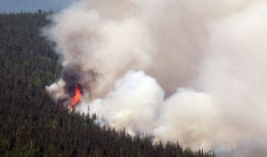 Hastings Fire grows, destroys cabin; new fires reported off CHSR