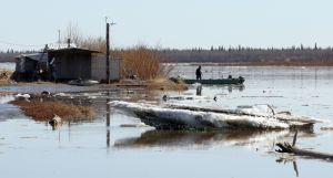Fort Yukon flood 2013