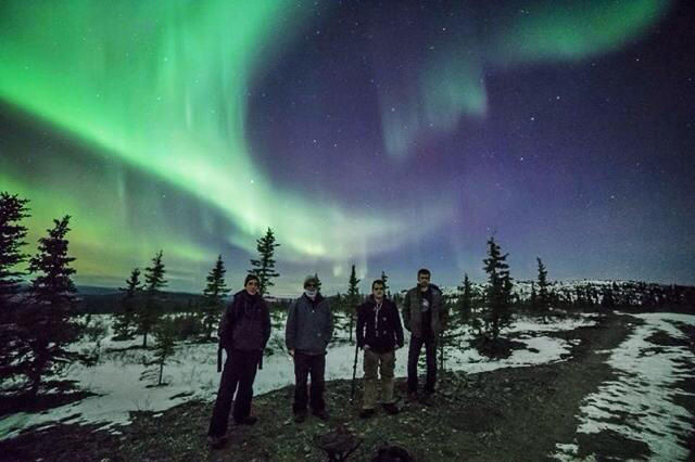 Interior alaska skies a kaleidoscope of color in november - Interior community health center fairbanks ...