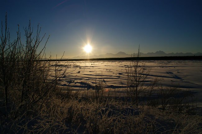 Cold deepens as Fairbanks officially drops to minus 40