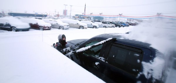 Fairbanks area sees snow shortage shrink with week's storms