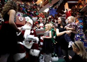 Santa Claus is coming ...: St. Nick stays busy in North Pole getting wish lists from kids