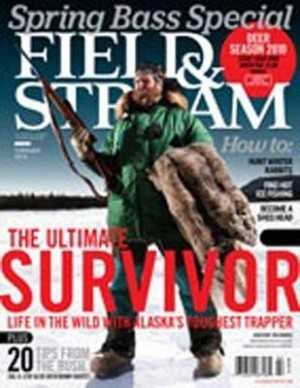 Fairbanks trapper Marty Meierotto makes the cover of Field & Stream