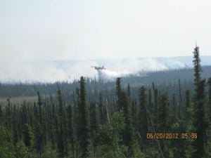 Alaska crews fighting wildfire close to Allakaket
